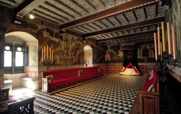 La magia della Rocca Medievale di Torino: colazione in Sala Rinascimentale