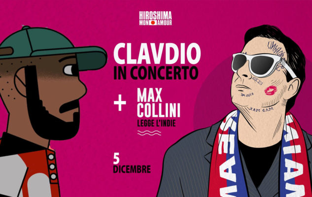 Clavdio e Max Collini in concerto all'Hiroshima Mon Amour