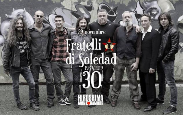 Fratelli di Soledad in concerto all'Hiroshima Mon Amour di Torino