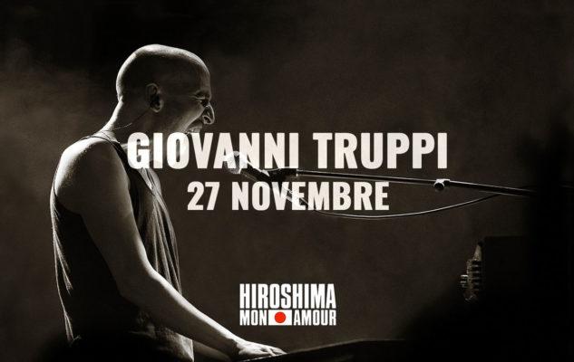 Giovanni Truppi in concerto a Torino all'Hiroshima Mon Amour