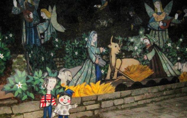 Natale a Torino 2019: il presepe di Emanuele Luzzati