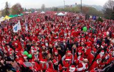 Raduno dei Babbi Natale 2019 Torino