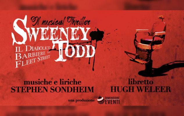 Sweeney Todd Musical Torino