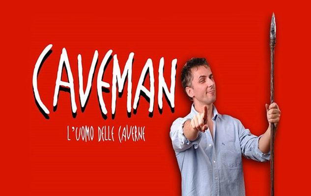 Caveman: a Torino lo spettacolo di Rob Becker sul rapporto di coppia