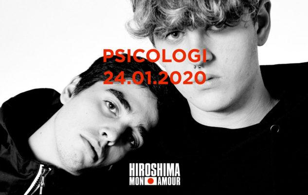 Psicologi in concerto all'Hiroshima Mon Amour di Torino