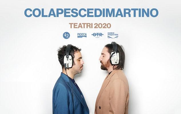 Colapesce e Dimartino a Torino nel 2020: data e biglietti del concerto
