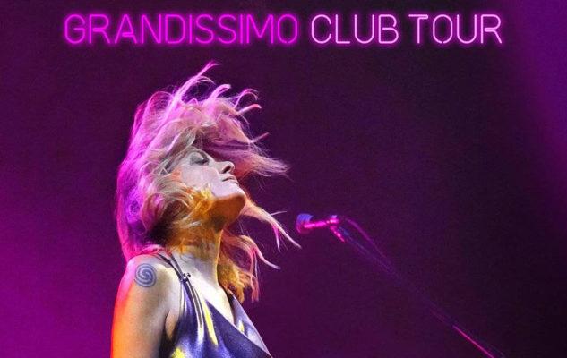 """Irene Grandi a Torino con una tappa del """"Grandissimo Club Tour"""""""