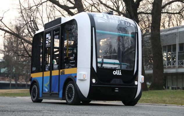Olli: il primo shuttle a guida autonoma d'Italia inaugurato a Torino