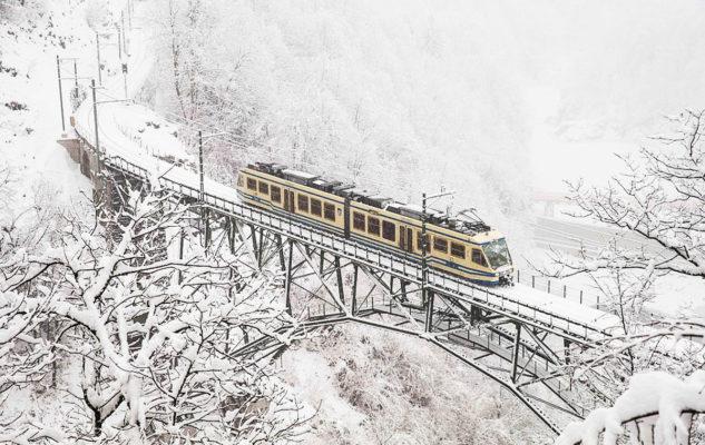 San Valentino sul Treno Panoramico: cime innevate e paesaggi magici (a metà prezzo)