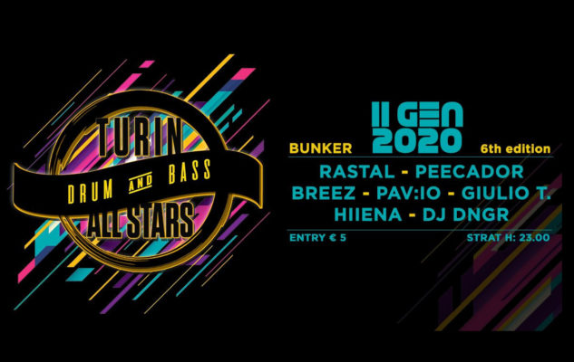 """Turin Drum and Bass All Stars"" al Bunker di Torino"