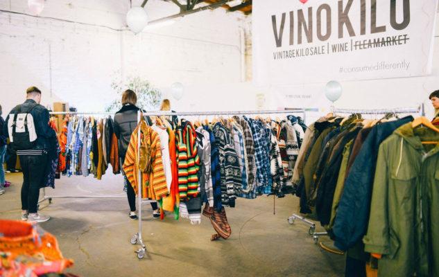 Vintage Kilo Sale: vestiti in vendita al chilo per 2 giorni a Torino