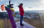 Le Panchine Giganti in Piemonte: sedersi a due metri da terra ammirando panorami mozzafiato