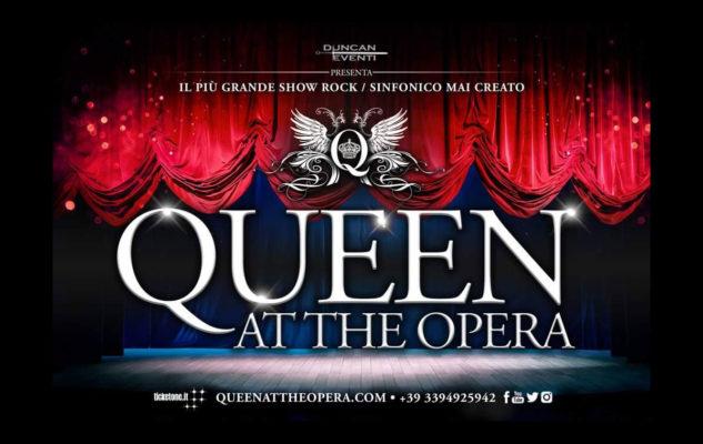"""""""Queen At The Opera"""": a Torino il concerto spettacolo sulle musiche dei Queen"""