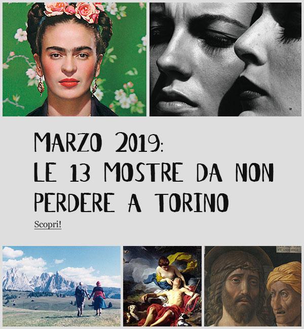 Mostre Torino Marzo 2020