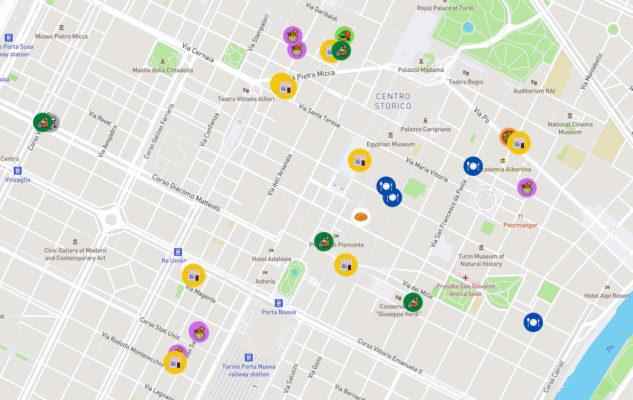 InveceBottega.it: la mappa delle botteghe di Torino con consegna a domicilio