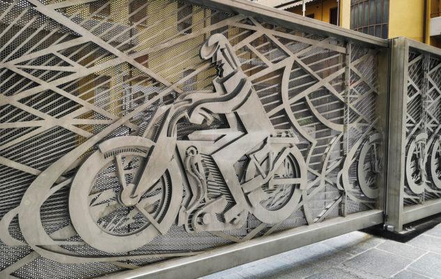 Cancello futurista Torino