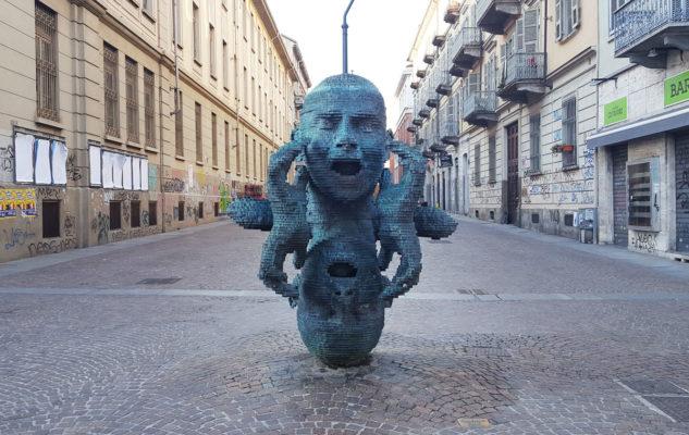Eco: la suggestiva statua di Torino da vedere e da ascoltare