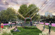 Precollinear Park: il progetto di Torino Stratosferica per ridisegnare corso Gabetti