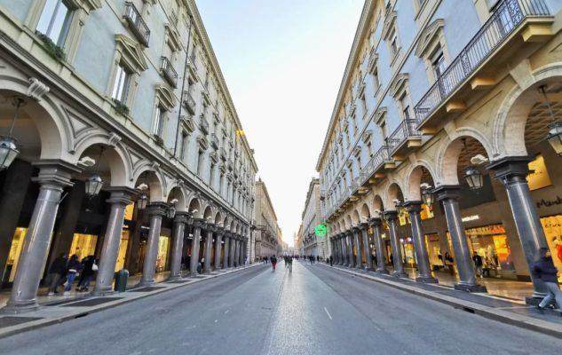 Torino pedonalizzazioni vie
