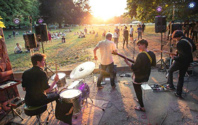 Green Dot: cibo, musica e arte al Parco del Valentino