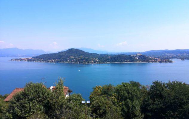 Sancarlone lago maggiore panorama