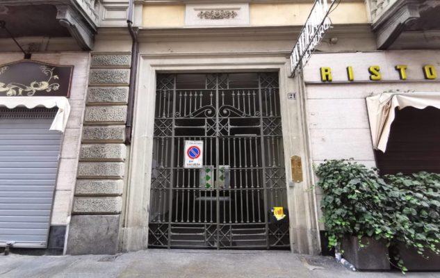 Ghetto Ebraico Torino cancellate