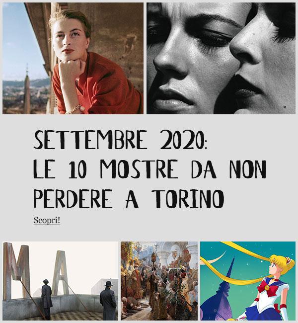 Mostre Torino Settembre 2020