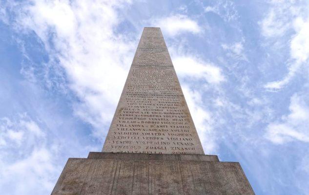 Obelisco Torino lista comuni