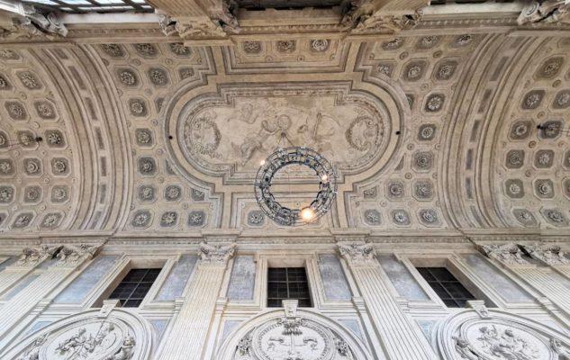 Scalone Palazzo Madama Torino