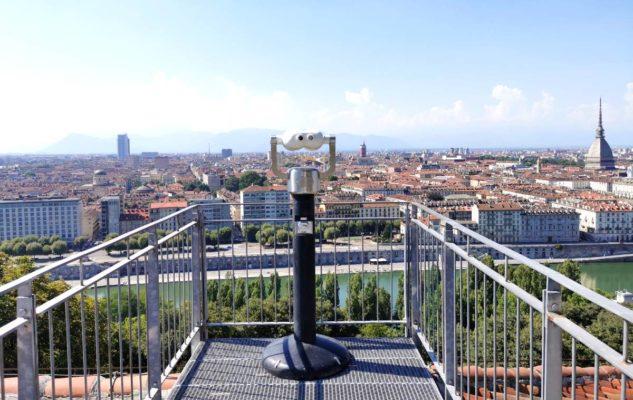 Torino panorama Museo montagna