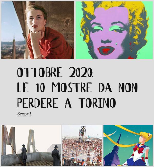 Mostre Torino Ottobre 2020