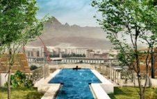 """Green Pea: in arrivo a Torino una """"piscina panoramica"""" con vista sulle Alpi e sulla collina"""
