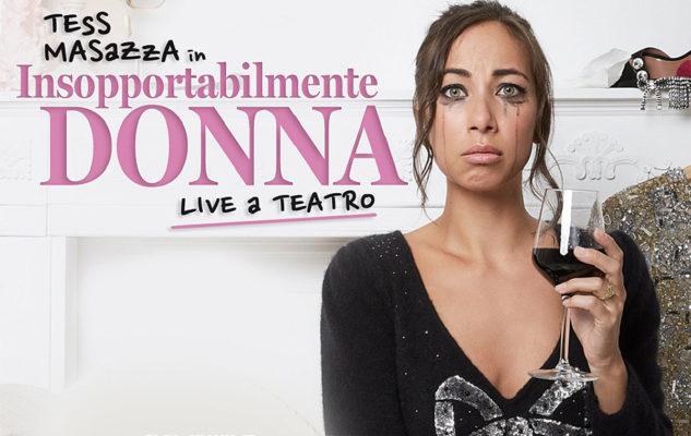 """Tess Masazza a Torino: data e biglietti del """"Live a teatro 2021"""""""