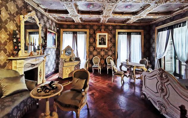 Castello Mandria salotto
