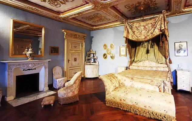 Castello Mandria camera