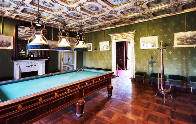 Castello Mandria sala