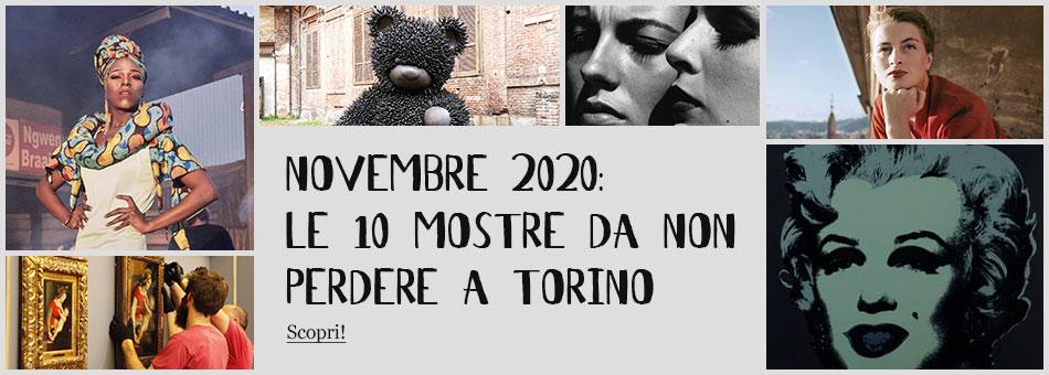 Mostre Torino Novembre 2020