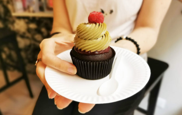 Tauer Bakery cupcake San Salvario