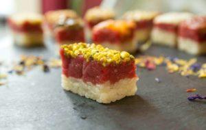 """Sushi di Carne a Torino: da Giampaolo Crü il famoso """"sushi piemontese"""""""