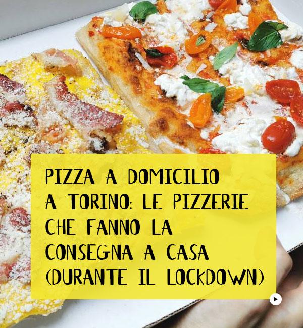 Pizza Domicilio Torino