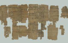 """""""La Collezione Papiri di Torino"""" conferenza egittologica on-line del Museo Egizio"""