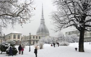 Neve in arrivo a Torino: temperature vicine allo zero per la prima nevicata dell'anno