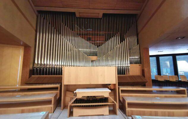 Chiesa Santo Volto Torino organo