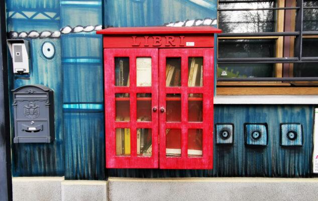 """La """"biblioteca"""" più piccola e speciale di Torino"""