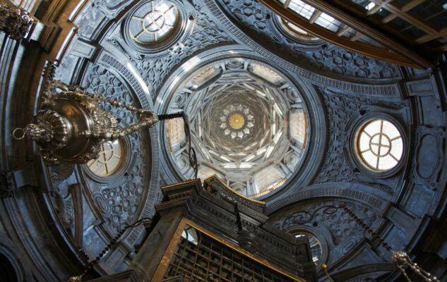 Altare Cappella Sindone Torino restauro