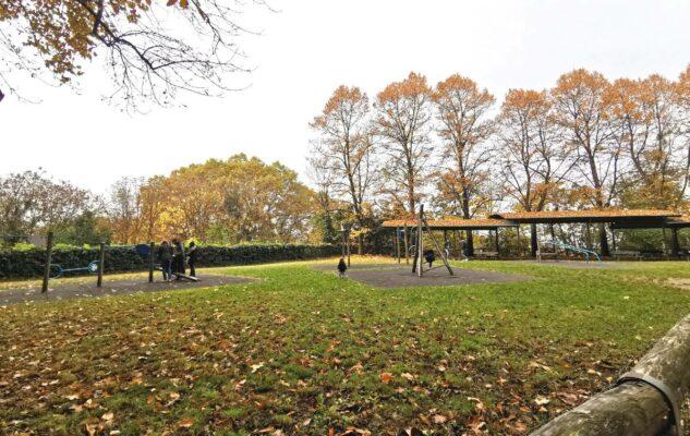 Parco Leopardi Torino area gioco