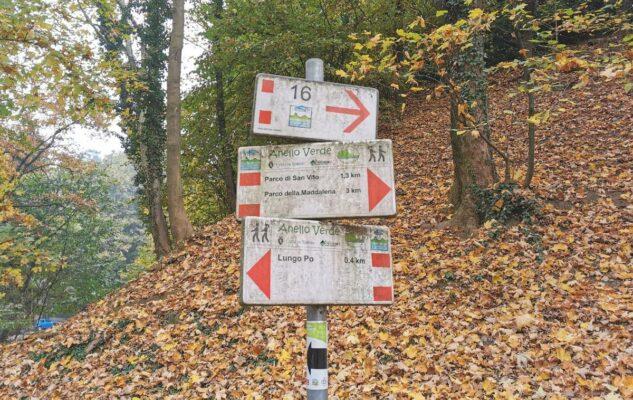 Parco Leopardi Torino sentieri