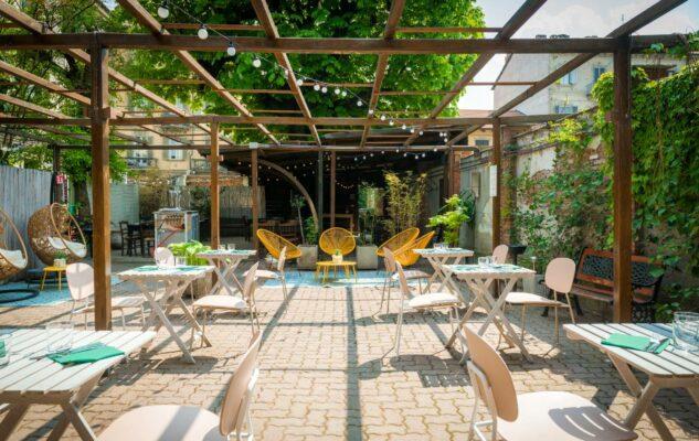 CasaGoffi: riapre il giardino sul fiume per aperitivi, cene e brunch all'aperto