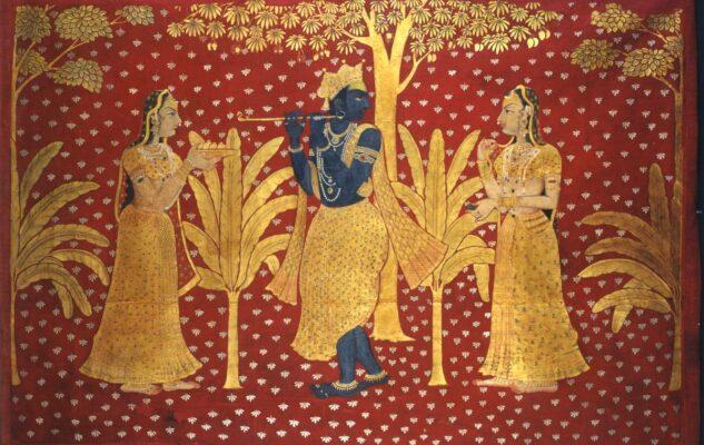 Krishna, il divino amante: dipinti indiani in mostra al MAO