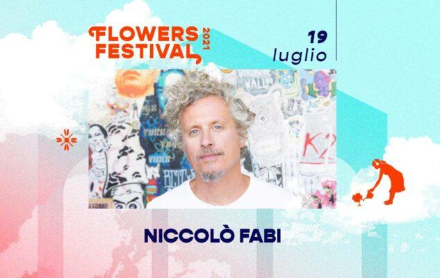 Niccolò Fabi al Flowers Festival 2021 di Collegno: data e biglietti